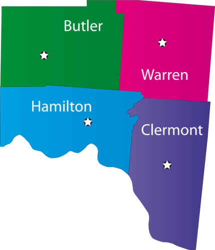 Springdale Ohio Map.Tri County Visiting Nurses Llc Home Health Care Services