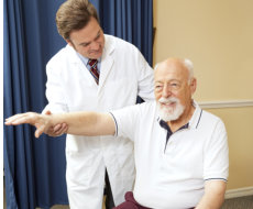 Assisting elder in excercising